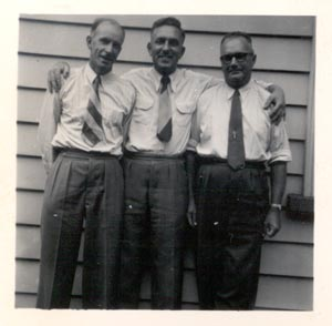 Image = Jack Spooner, Albert Hopkins and Russell Williamson